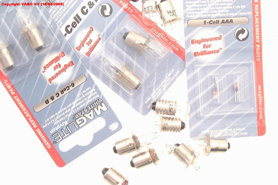 NEW MAGLITE MAG-NUM STAR II XENON LMXA201U REPLACEMENT BULB FOR 2-CELL C /& D